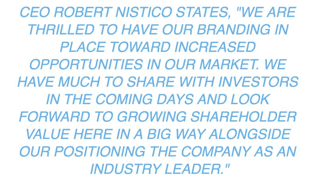 CEO Robert Nistico States
